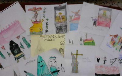 El Consejo de Hermandades y Cofradías de Cádiz convoca el I Concurso Infantil de Carteles de Semana Santa