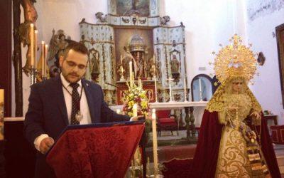 Antonio Sánchez Mosteiro pregona este sábado a la Juventud Cofrade