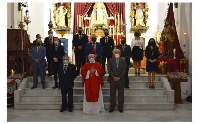 El Presidente del Consejo asistió en la tarde de ayer a la toma de posesión de la Archicofradía de la Merced
