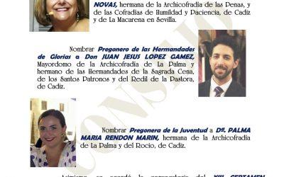 Toñi Martínez Novas pregonará la Semana Santa de 2022